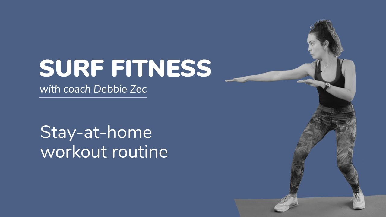 Surf Training Exercises to practice at home