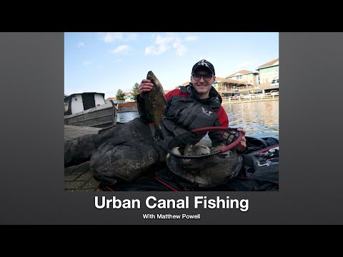 Bream Fishing On Urban Canals