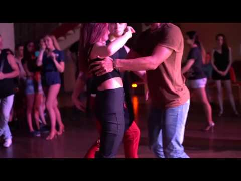 RZCC-2016: Triple Social-dance with Larissa, Bruno and Kuna ~ video by Zouk Soul