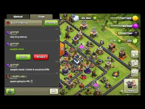 How To Find Your Base Weight! CLASH OF CLANS