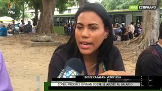Venezuela - Caraqueños inconformes con nuevo aumento salarial - VPItv