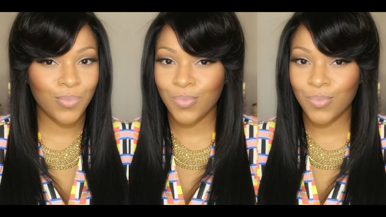 how to style side swept hair hair tutorial voluminous side swept bangs using a flat 7210