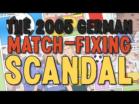 The 2005 german match fixing scandal
