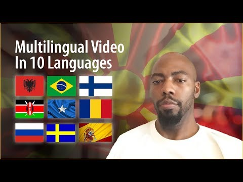 American Speaking 10 Foreign Languages!
