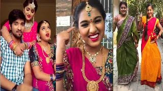 Ganga manga serial team latest dubsmash videos 😄,zee Telugu serial team 😃😃 tiktok India