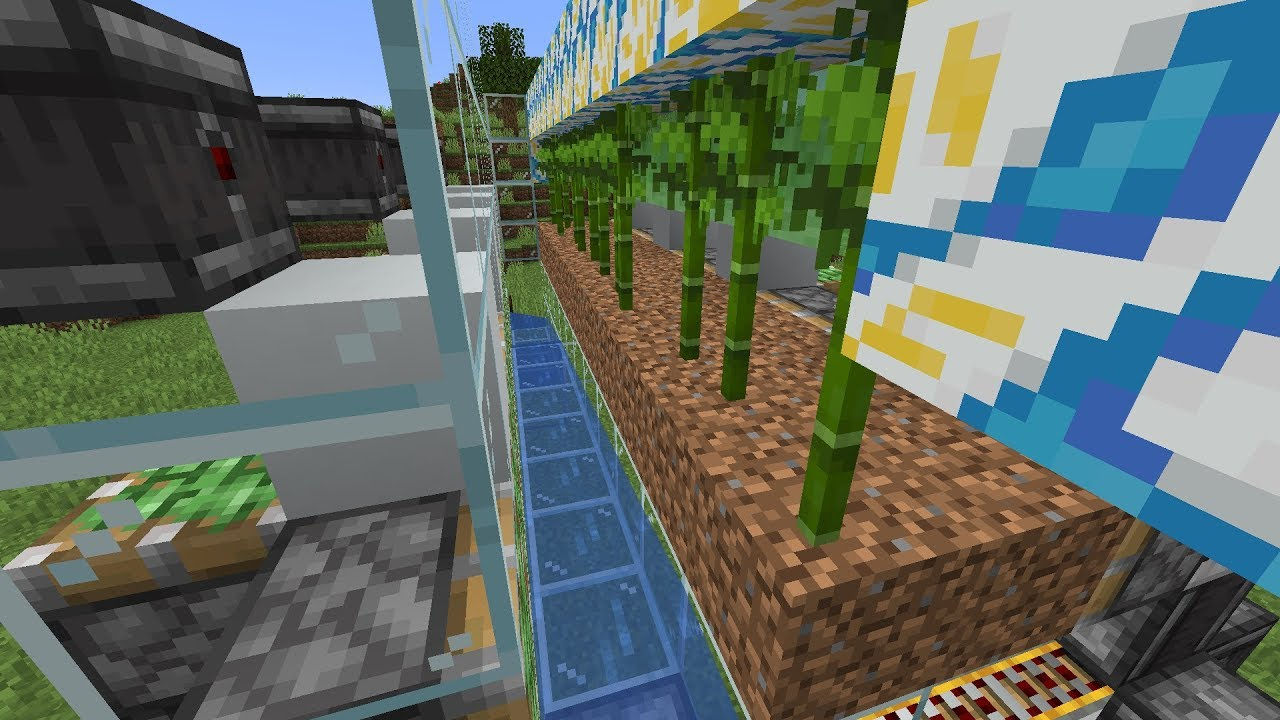 40,000 Bamboo/h Farm (no bone meal) – Backstreet Gluttons