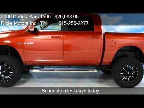 2009 dodge ram 1500 laramie 4x4 truck for sale in nashvill youtube. Black Bedroom Furniture Sets. Home Design Ideas