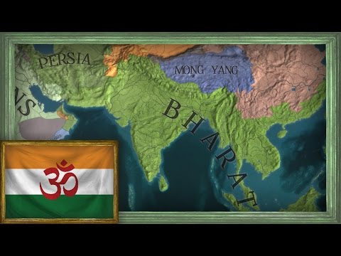 EU4 - Timelapse - Indian Colonial Empire