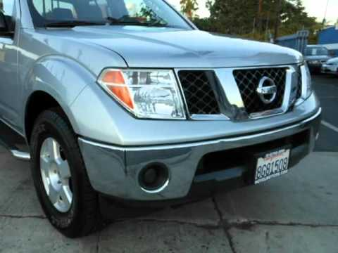 2007 Nissan Frontier Crew Cab Running Boards, LOW Miles, Alloy Wheels, Full  Power (North.