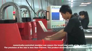 Технология производства защитных стекол Ainy
