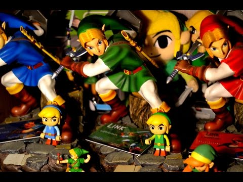 [#1] Collection Zelda - Toutes Mes Figurines, Statues & Peluches de LINK !