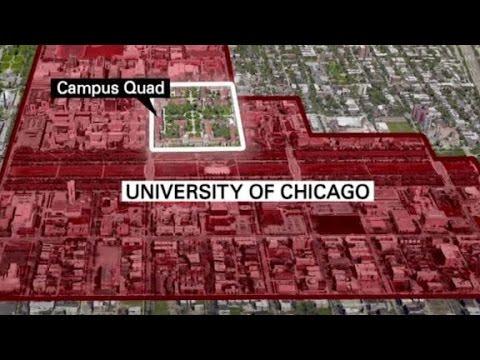 Suspect arrested in University of Chicago gun threat