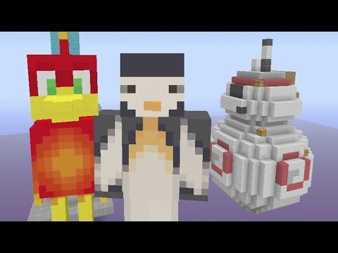 Minecraft Xbox - Team Sky Wars - Star Wars BB8