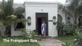 The Honeymoon Testers arrive at Baraza Resort, Zanzibar