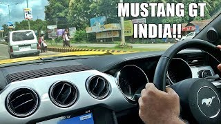 RIDE IN A FORD MUSTANG GT - INDIA
