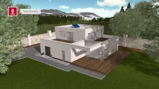INHAUS Solar und Photovoltaik - Funktion und Animation