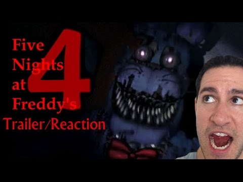 5 nights at freddys 4 trailer official