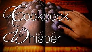 Cookbook Relaxation  ASMR Whisper  Page Turning  Scratching  Tapping