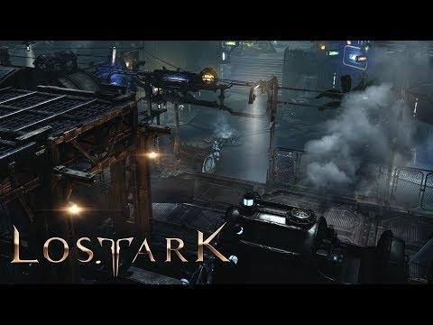 Lost Ark - Futuristic Steam Punk - Port Harbor and Main City Tour Quests - CBT2 - Athertine Region