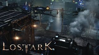 Lost ark - futuristic steam punk - port harbor and main city tour quests - cbt2 - athertine region