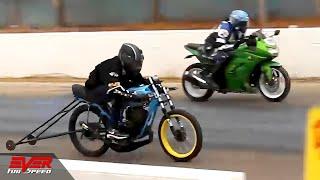 Download lagu Yamaha RX vs Kawasaki Ninja 250 🔥 DRAG RACING 🔥 balap motor 🔥 DUELO DE MOTOS 🏍🚦🏍