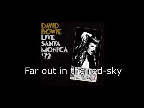 The Supermen (Live Santa Monica '72) | David Bowie + Lyrics