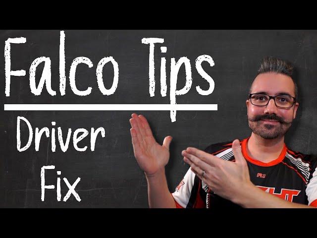 Tips FalcoX | Carte non reconnue ? Problème de drivers ? Réglons ça !
