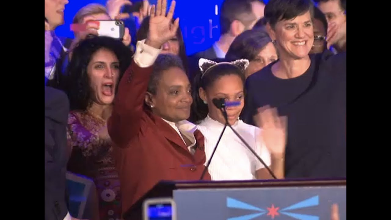 Lori Lightfoot Is Elected Chicago Mayor, Becoming First Black Woman to Lead City