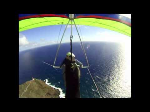 Download Hang Gliding over Rabbit Island