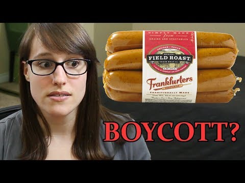 Field Roast sold out to the meat industry? (yet another silly vegan boycott)