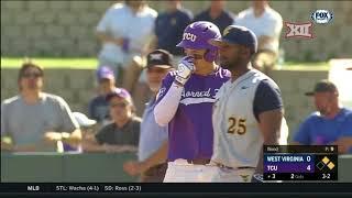 West Virginia vs TCU Baseball Highlights - May 12