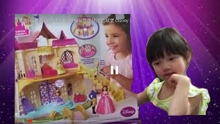 (美國玩具介紹)迪士尼小公主蘇菲亞魔法說話城堡 Disney Sofia the First Magical talking castle