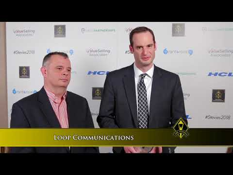 Loop Communications Wins A Stevie® Award In The 2018 Stevie Awards For Sales & Customer Service