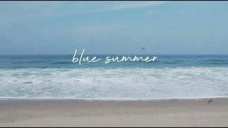 Natalie K- Blue Summer (Official Lyric Video)