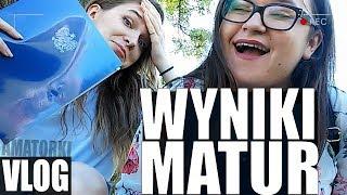 NASZE WYNIKI MATUR!! SZOK!! - vlog #3
