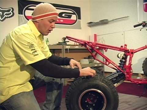 Honda 400EX Motocross Racer Quad Builder Project Part 2