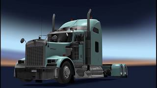 Detail & Download From https://ets2.lt/en/kenworth-w900-long-1-37/      Kenworth w900 long. For ets2 1.37 the chassis were lengthened and lowered. Includes various accessories. enjoy it Credits: Cartruck