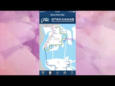 Macau Offline Travel Map App