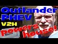 EP157 - Can the Outlander PHEV power a house through Vehicle to Home Technology (V2H)? 🚗🔌🏠