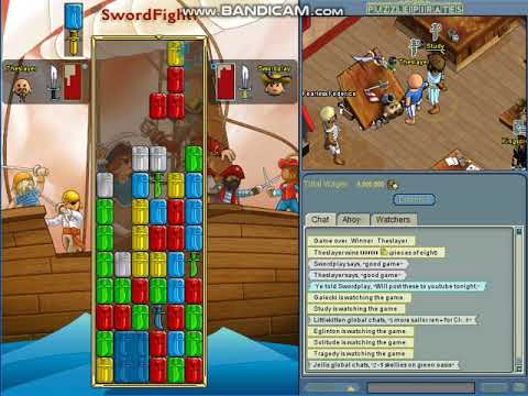 PART 2 HUGE Wagers Against Swordplay In Puzzle Pirates.