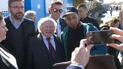Irlands Präsident preist griechische Willkommenskultur