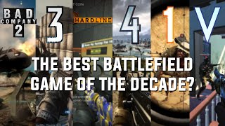 Finding the most popular Battlefield game from the last decade