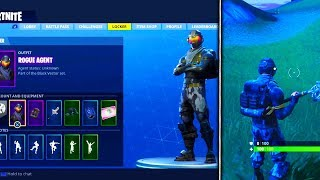 *NEW* ROGUE AGENT SKIN GAMEPLAY On Fortnite - Fortnite Battle Royale Starter Pack UNLOCKED
