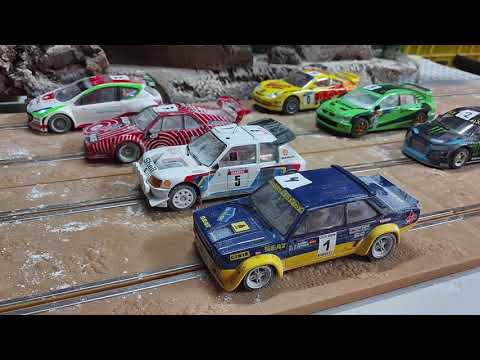Primer rallycross 2021 Madrid Slot Racing