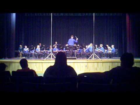 R. Dan Nolan Middle School Wind Ensemble performs