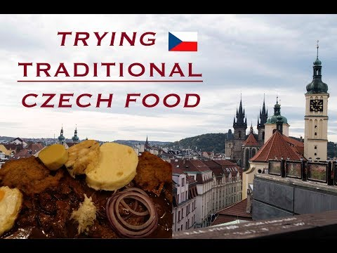 TRAVEL VLOG - TRYING TRADITIONAL CZECH FOOD