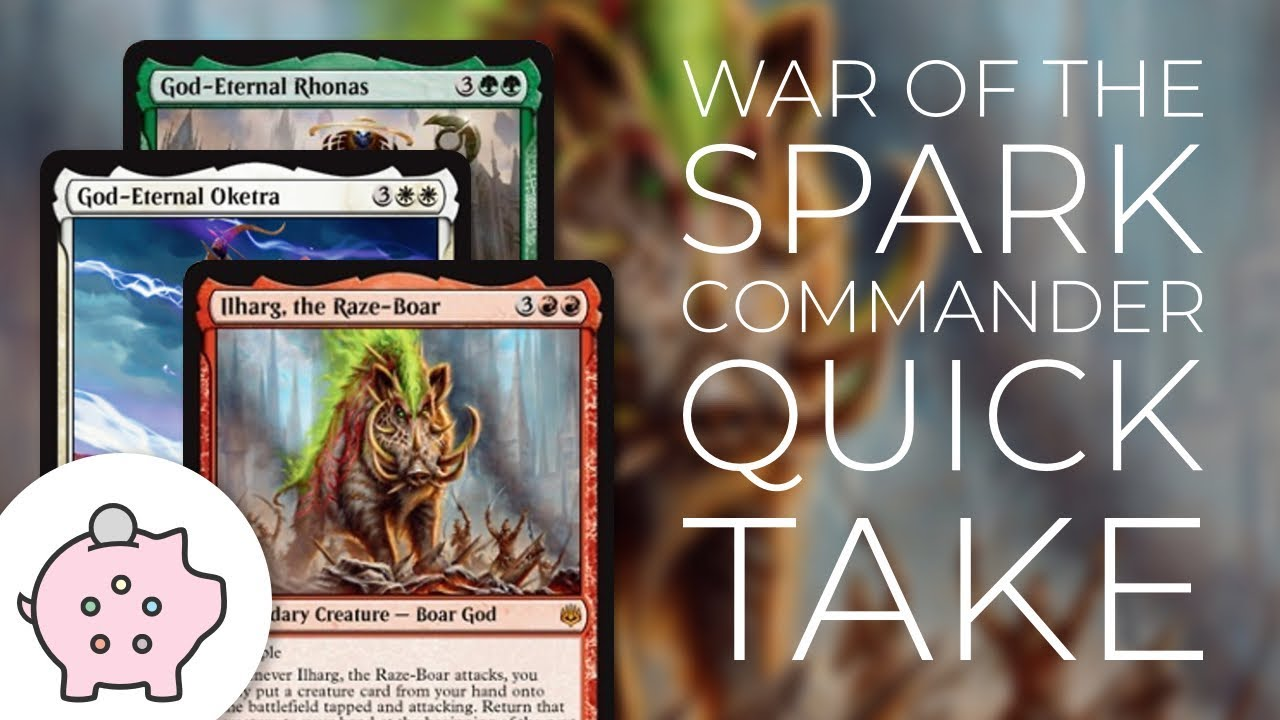 War of the Spark Spoilers | Ilharg | Oketra | Rhonas | EDH | Commander  Quick Take