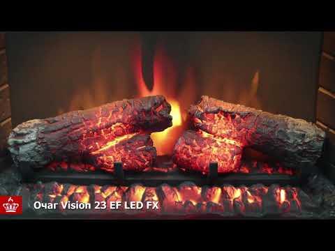 Электрический Очаг Royal Flame Vision 23 EF LED FX. Видео 1