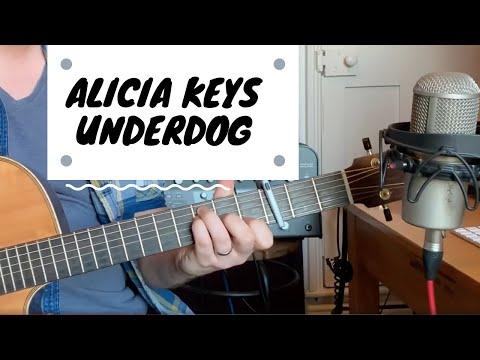 Alicia Keys - Underdog Guitar Tutorial