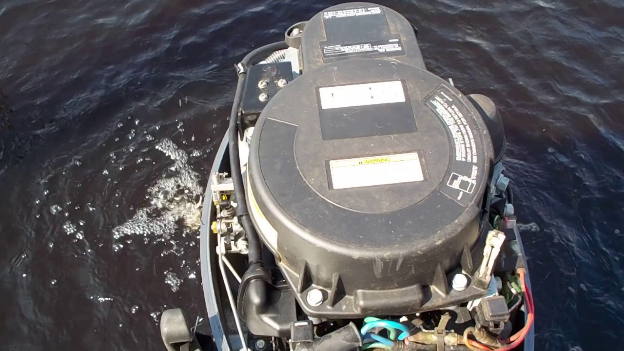 SURGING OUTBOARD PROBLEM IDLES UP HIGH AND THEN DIES OR RUNS RUFF *FIXED*